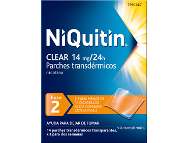 NiQuitin® Clear Patch/ 14mg