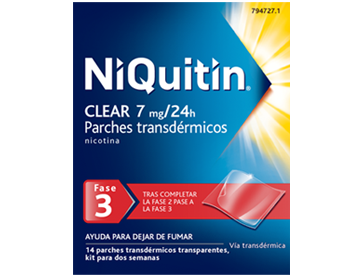 NiQuitin® Clear Patch/ 7 mg